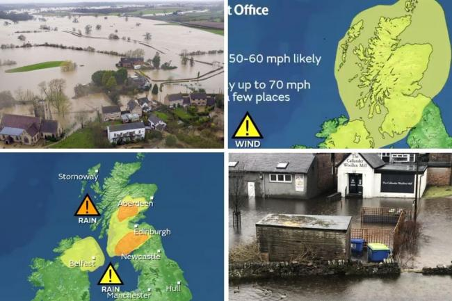 The Met Office has issued warnings for flooding and high winds across Scotland over the next few days
