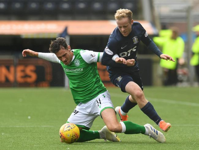 Joe Newell (left) has become a key figure at Easter Road