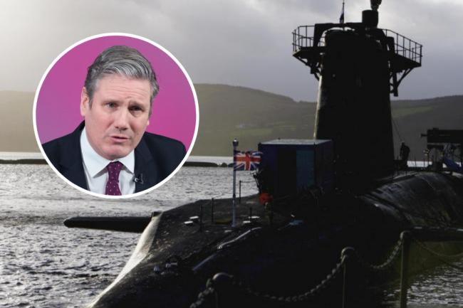 Keir Starmer's party will commit to nuclear weapons and NATO