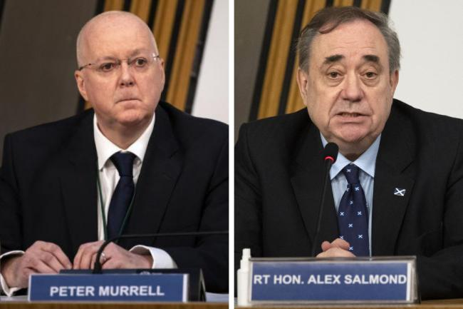 One leaked text from Peter Murrell said it was a 'good time to be pressurising' police over Alex Salmond