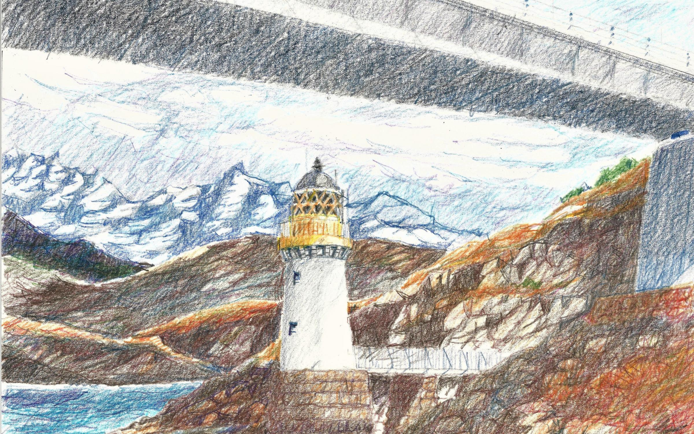 Architect's drawings of Scottish landmark draw global attention