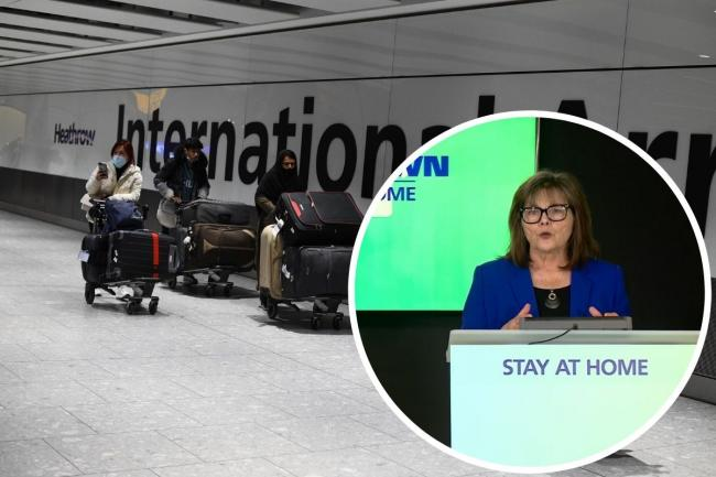Jeane Freeman has branded the UK's red list approach to international arrivals quarantining 'inadequate