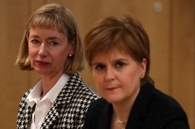 Who should play Nicola Sturgeon and Leslie Evans?