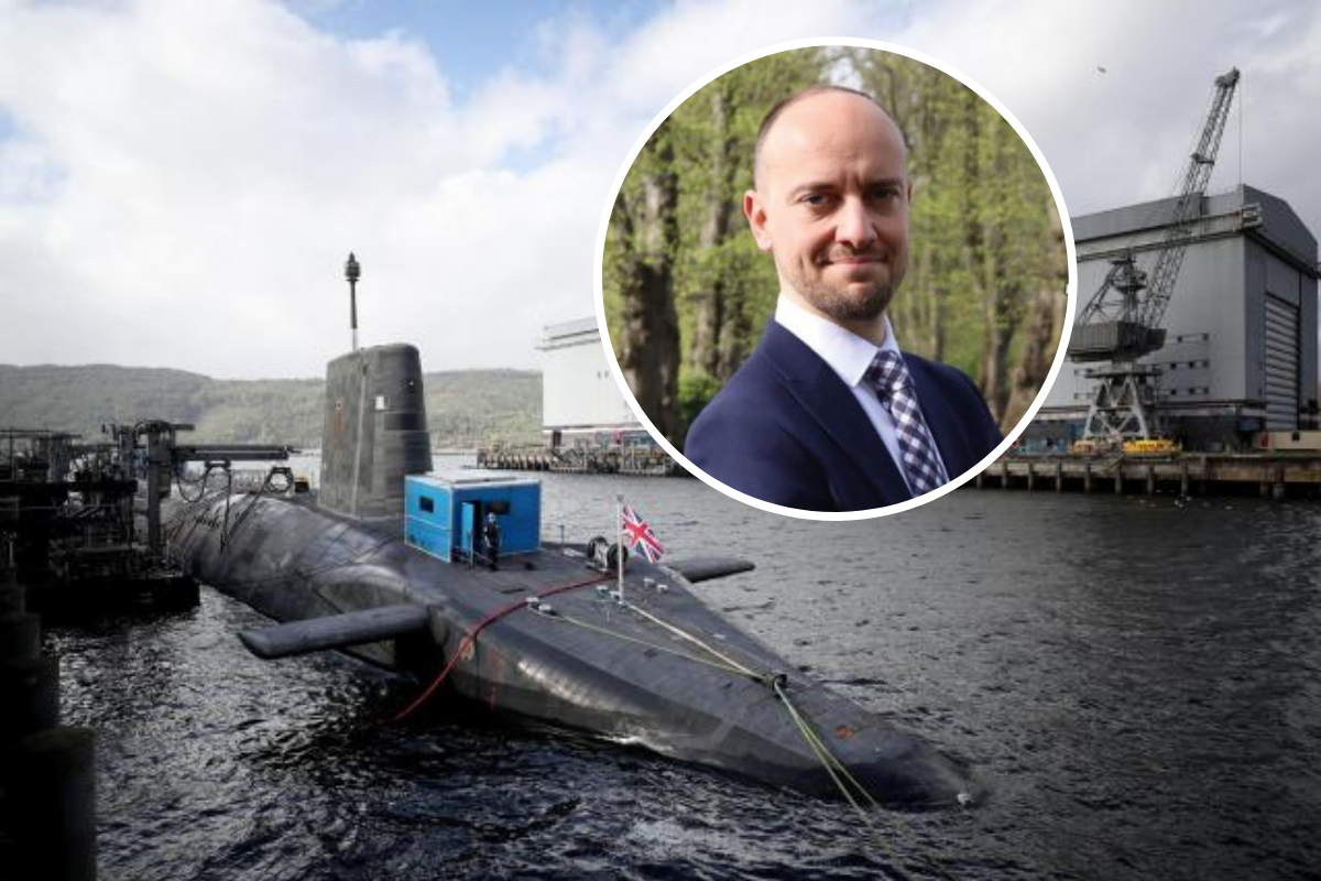 Faslane and Coulport: Dumbarton SNP candidate ToniGiugliano backs firefighters - national scot