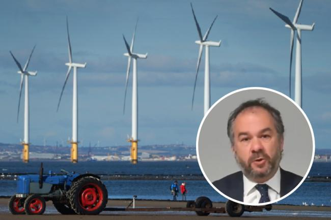 Paul Scully reassured the UK that we wouldn't be using any pesky foreign wind for energy
