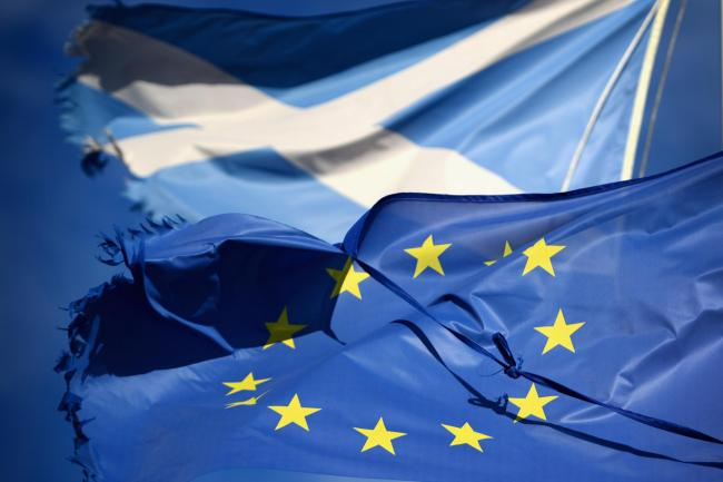 Unionists claim new figures on Scotland's notional deficit make plans to rejoin the EU 'highly implausible' – but experts aren't convinced