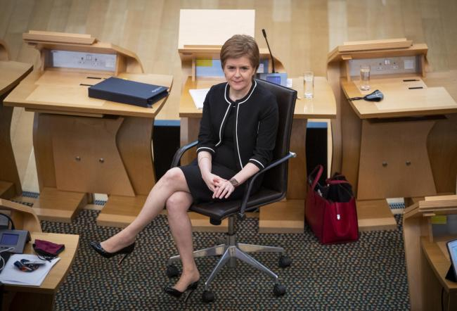 A motion of no confidence against Nicola Sturgeon was brought by the Scottish Tories today