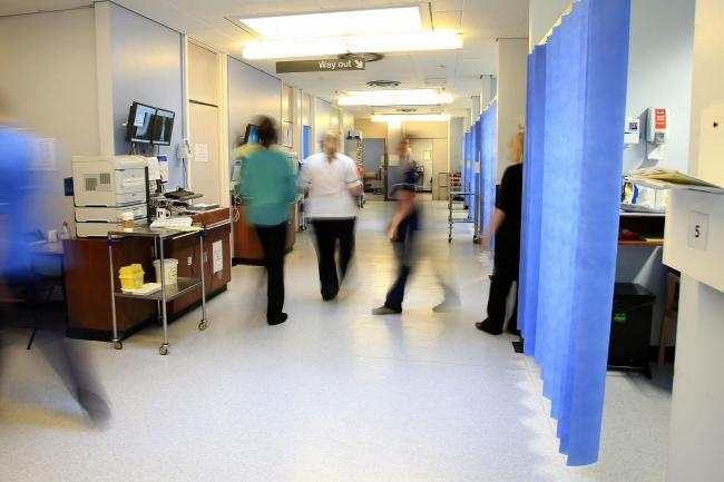 There were 192 Covid-19 patients in hospital in Scotland, down four in 24 hours