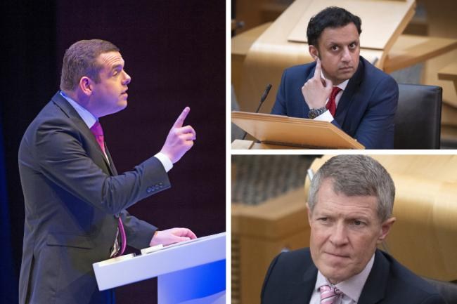 Douglas Ross wrote to Anas Sarwar and Willie Rennie after the launch of the Alba Party