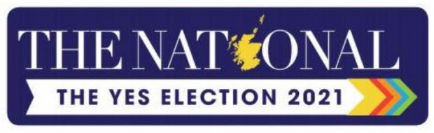 The National: Yes election 2021 banner image
