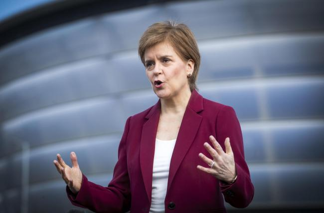 Nicola Sturgeon has suggested that Alex Salmond is 'misleading' the Yes movement