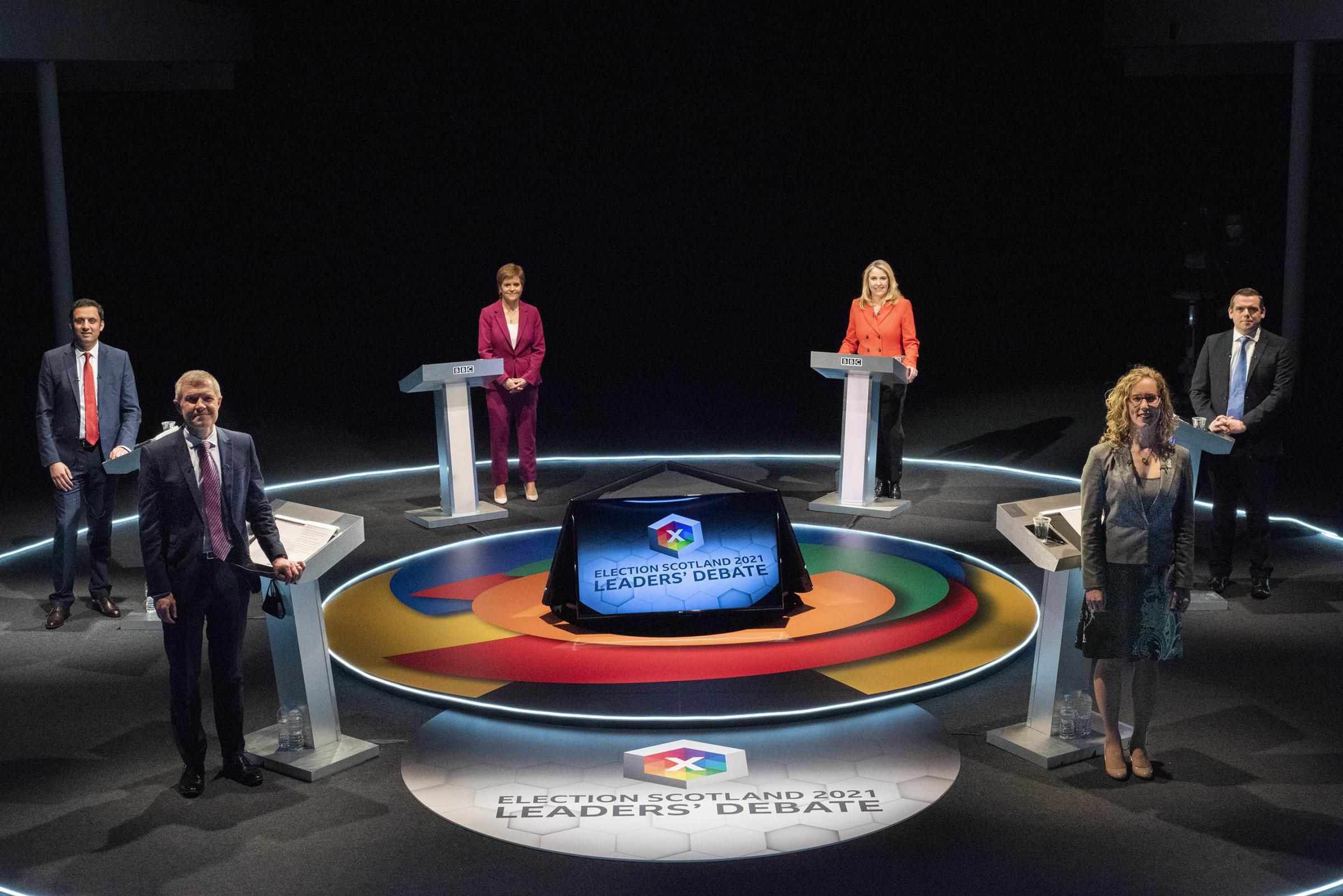 BBC hit by flood of complaints over anti-indy bias in Leaders' Debate