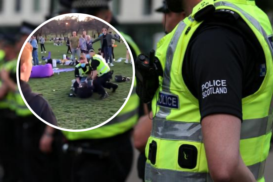 Police Officer Hospitalised After Mass Brawls In The Meadows In Edinburgh The National