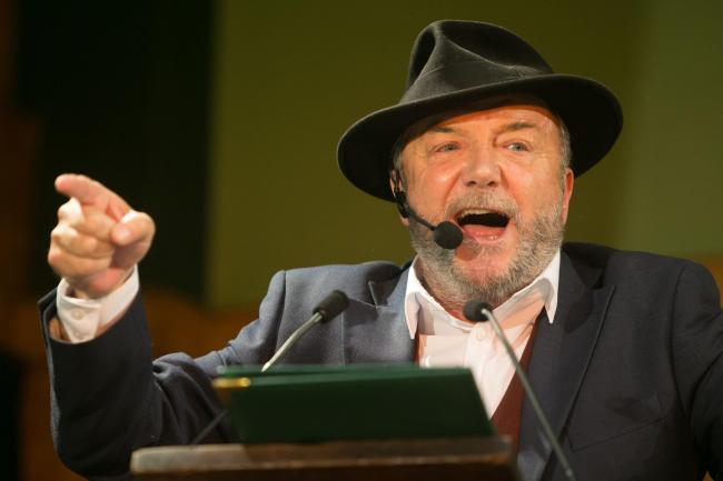 George Galloway, founder of the All for Unity party.