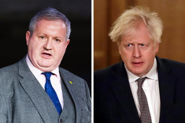 Ian Blackford has dismissed reports that his MPs would back Boris Johnson's proposals