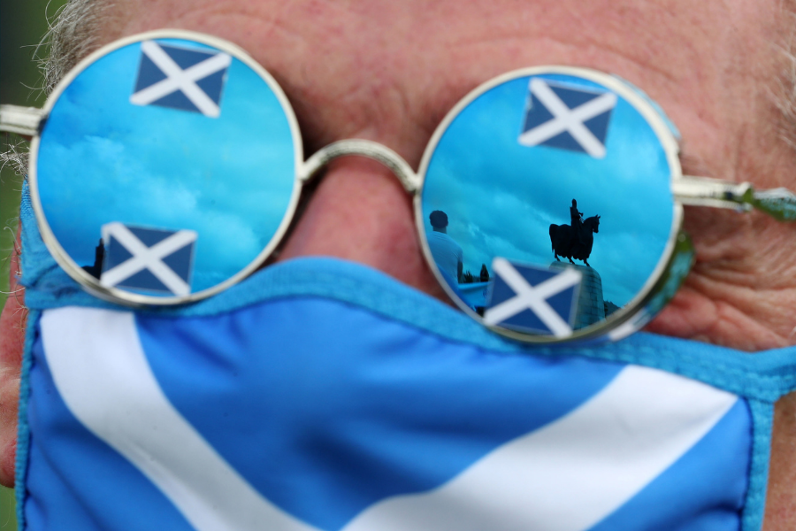 Scottish independence 'inevitable' as new poll puts Yes in the lead