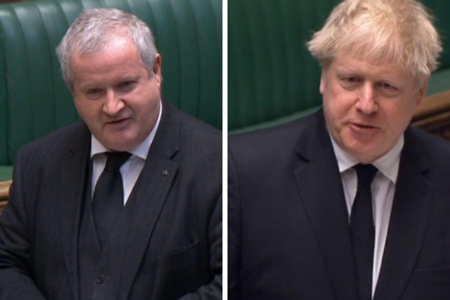 WATCH: Boris Johnson claims Tory attack on child rights bill is 'fictitious'