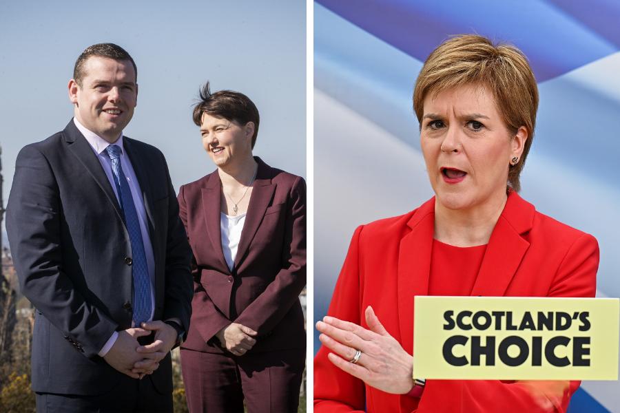 Douglas Ross claims Nicola Sturgeon wants 'scenes from Catalonia' in Scotland
