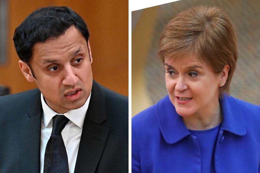 Scottish Labour delay manifesto launch due to Nicola Sturgeon's Covid briefing