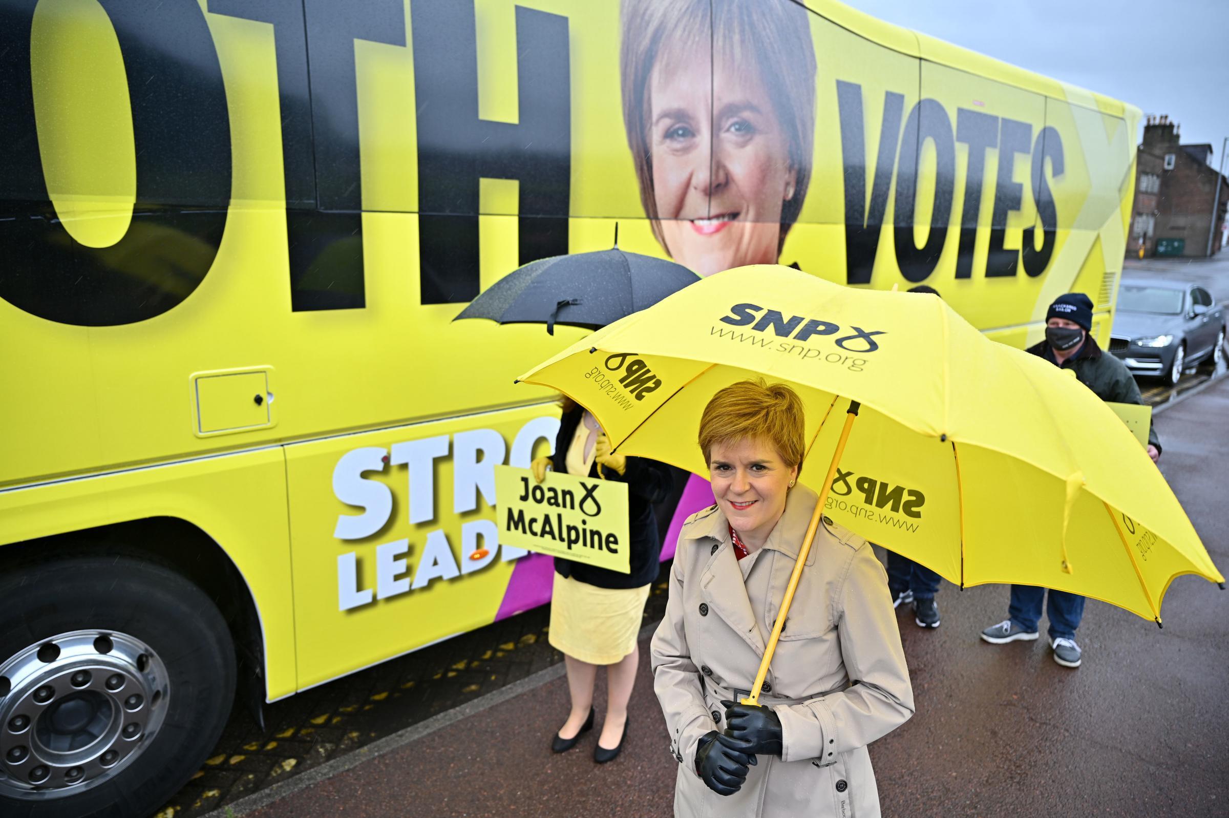 Nicola Sturgeon tells US magazine she felt close to 'broken' during Alex Salmond feud