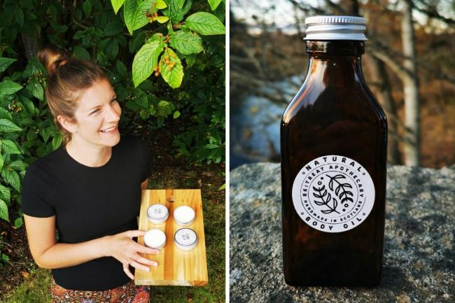 Kathryn McIntosh started selling her products last year