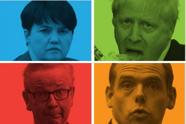 Ruth Davidson, Boris Johnson, Michael Gove and Douglas Ross feature heavily in The National's new billboard campaign