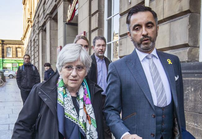 Clara Ponsati and Aamer Anwar, photographed in 2020