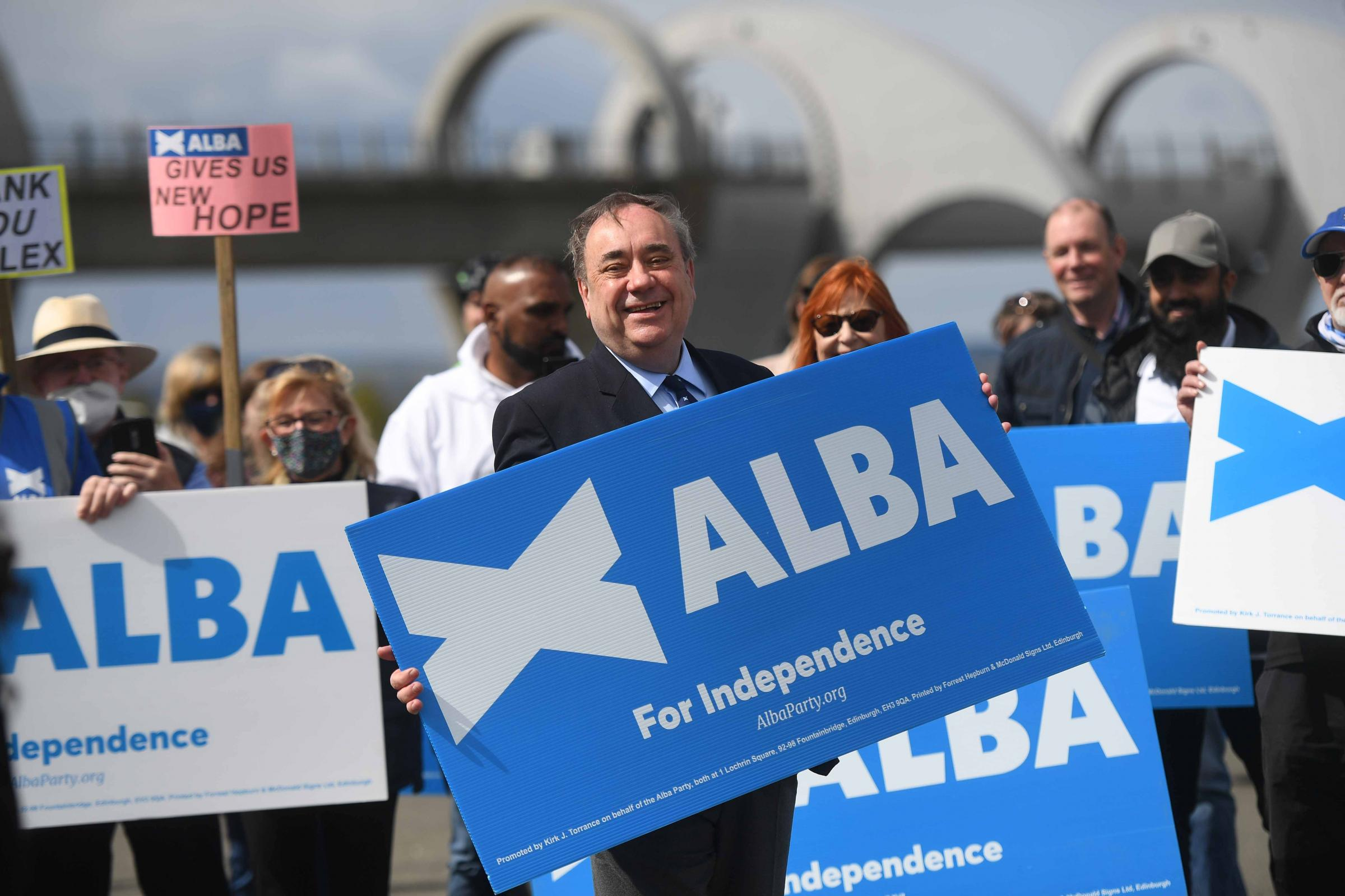 Watch: Alex Salmond in appeal to  'independence family' to back Alba