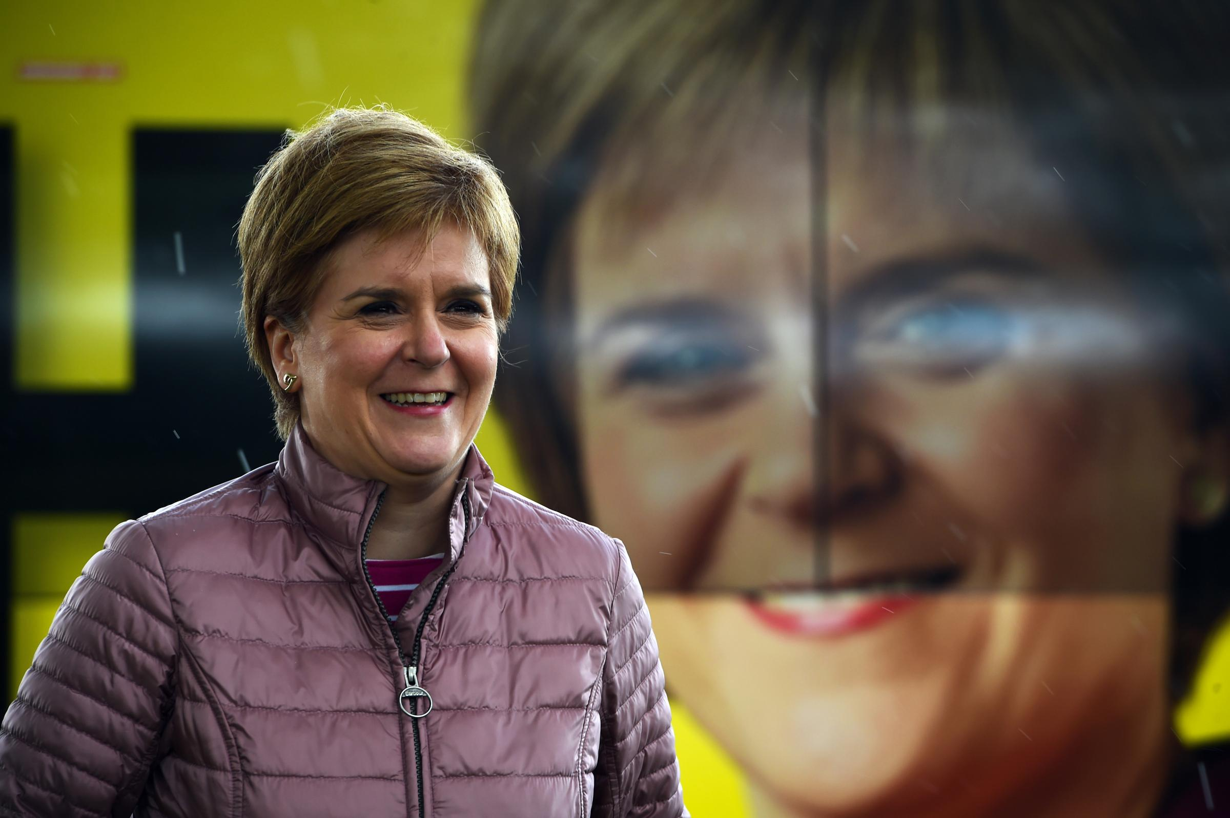Nicola Sturgeon: A vote for the SNP  is a chance to decide Scotland's future