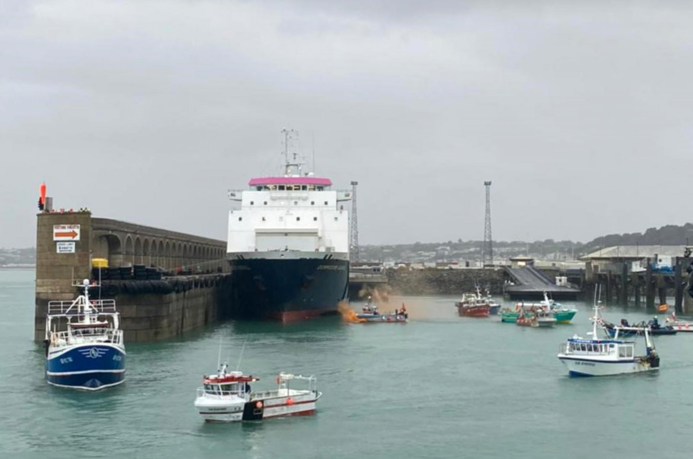 France sends police patrol boats to Jersey as Brexit fisheries tensions rise