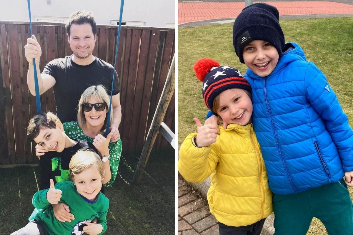 Critically ill boy now 'full of energy' after mum donates kidney
