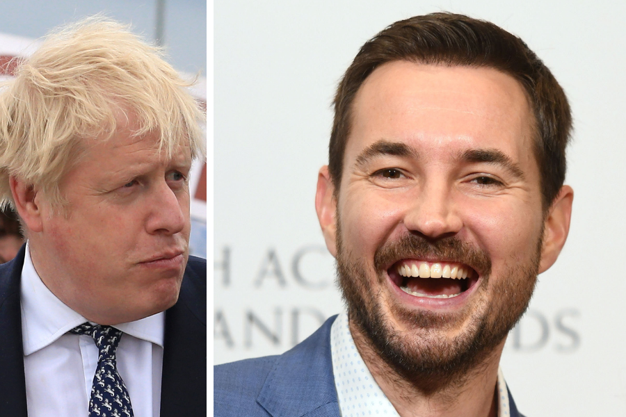 Martin Compston puts comedian in his place in row about 'clueless jocks'