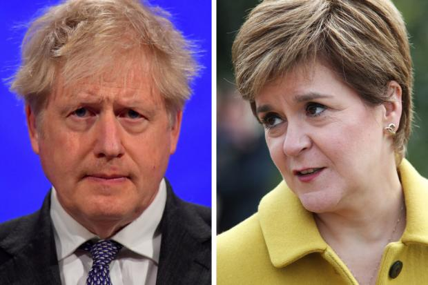 Nicola Sturgeon emphatically laid out her intentions in a phone call with the Tory prime minister