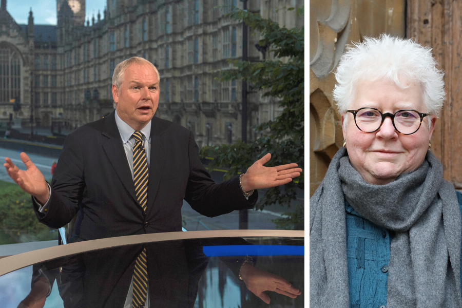 Val McDermid has perfect answer to 'absurd' Sky News question about independence
