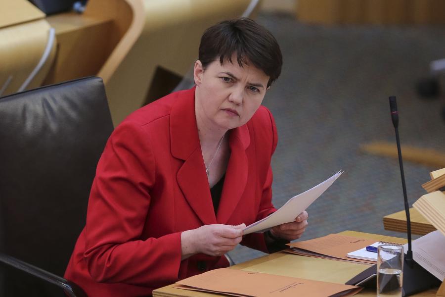 Old Ruth Davidson clip on indyref mandates comes back to haunt her