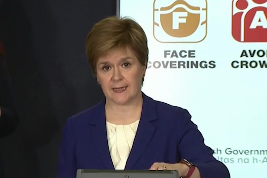 Nicola Sturgeon coronavirus update: FM announces Scots can hug loves ones