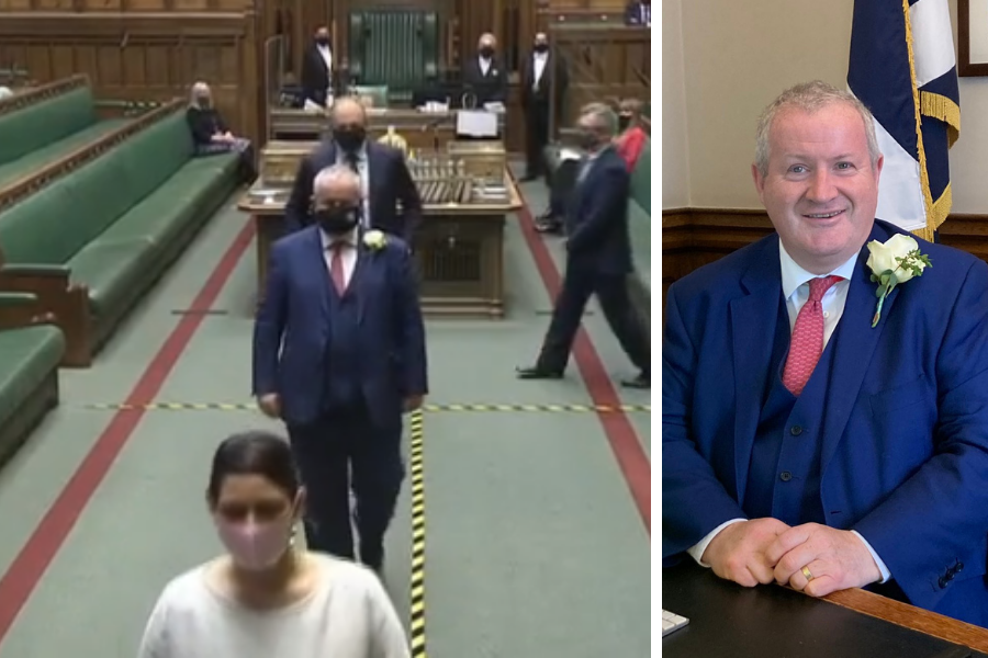 This is why SNP MPs were wearing white roses during Queen's Speech proceedings