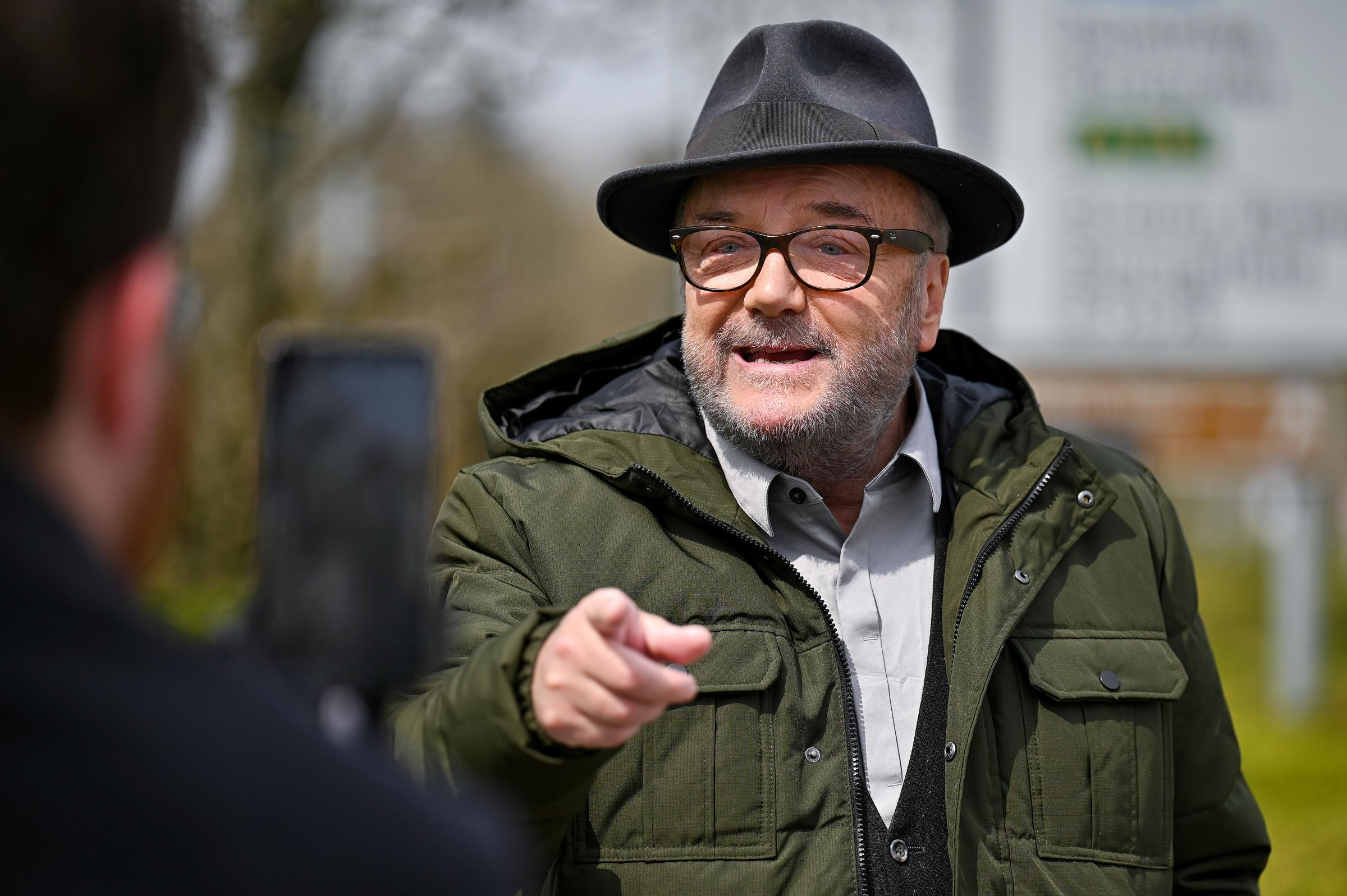 George Galloway's immigration comments reveal just how far he's fallen