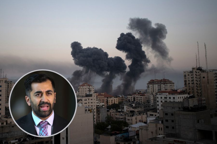Humza Yousaf shares heartbreaking messages from family in Gaza