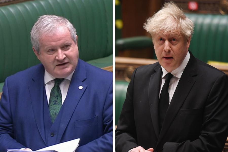 PM makes bizarre taunt at Ian Blackford over name of Oxford-AstraZeneca vaccine