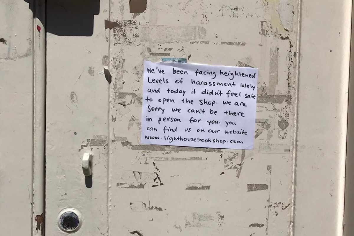 Edinburgh bookshop forced to shut after threats and 'weeks of harassment'