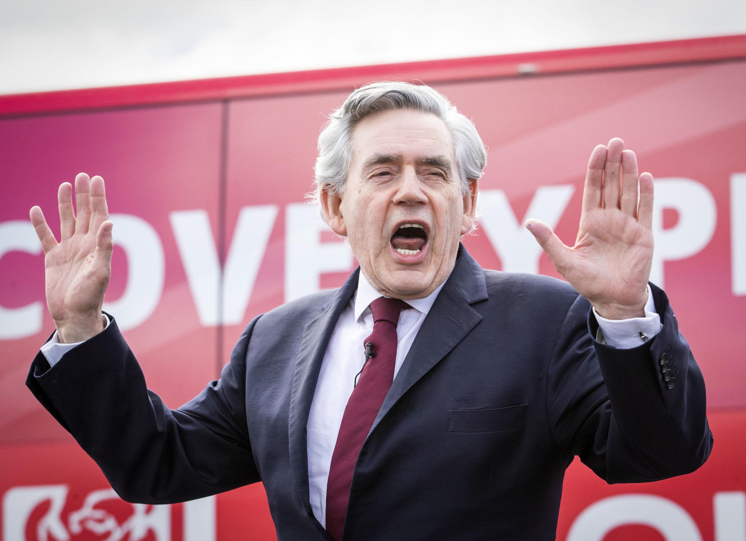 Wee Ginger Dug: This is Gordon Brown's new Vow – and it's every bit as hollow