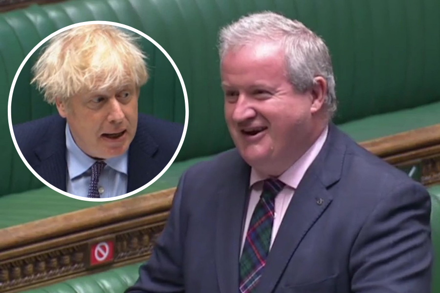 WATCH: Ian Blackford has MPs in stitches with joke about England v Scotland