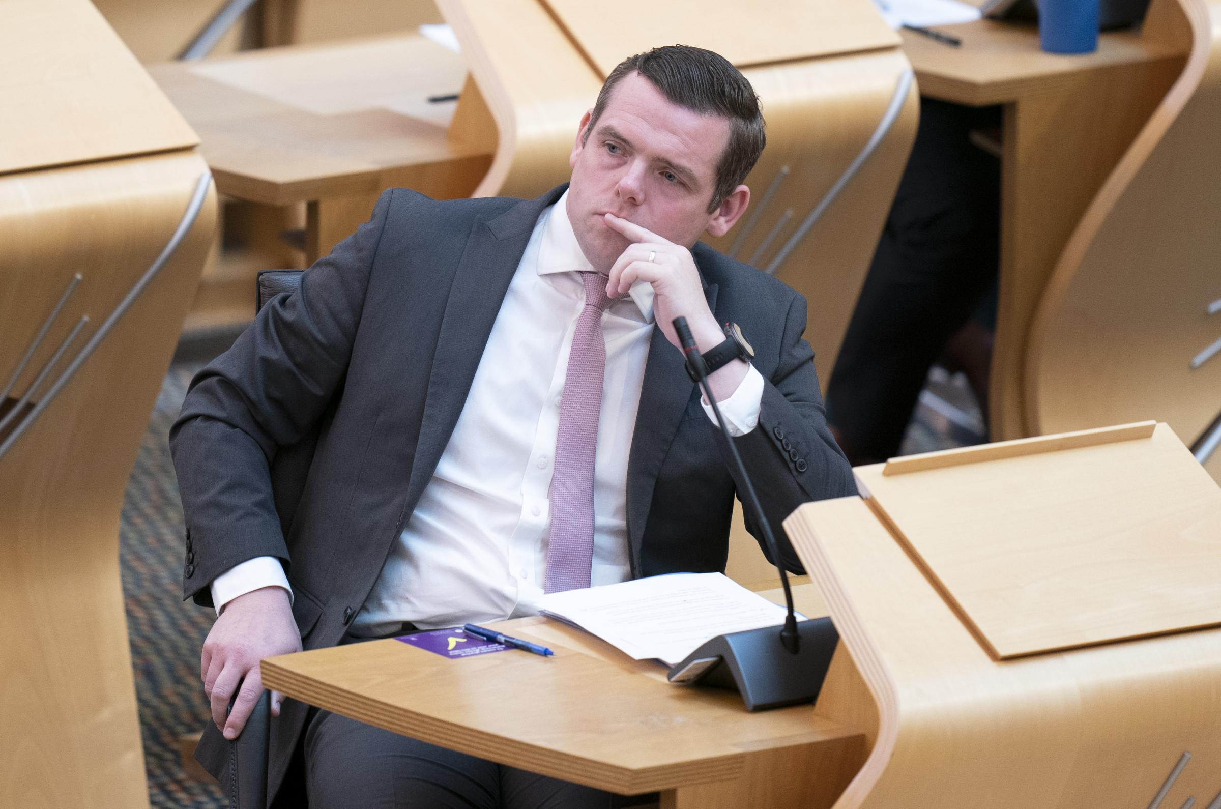 Scottish Tories deny Brexit's damaging impact on the country during Holyrood debate
