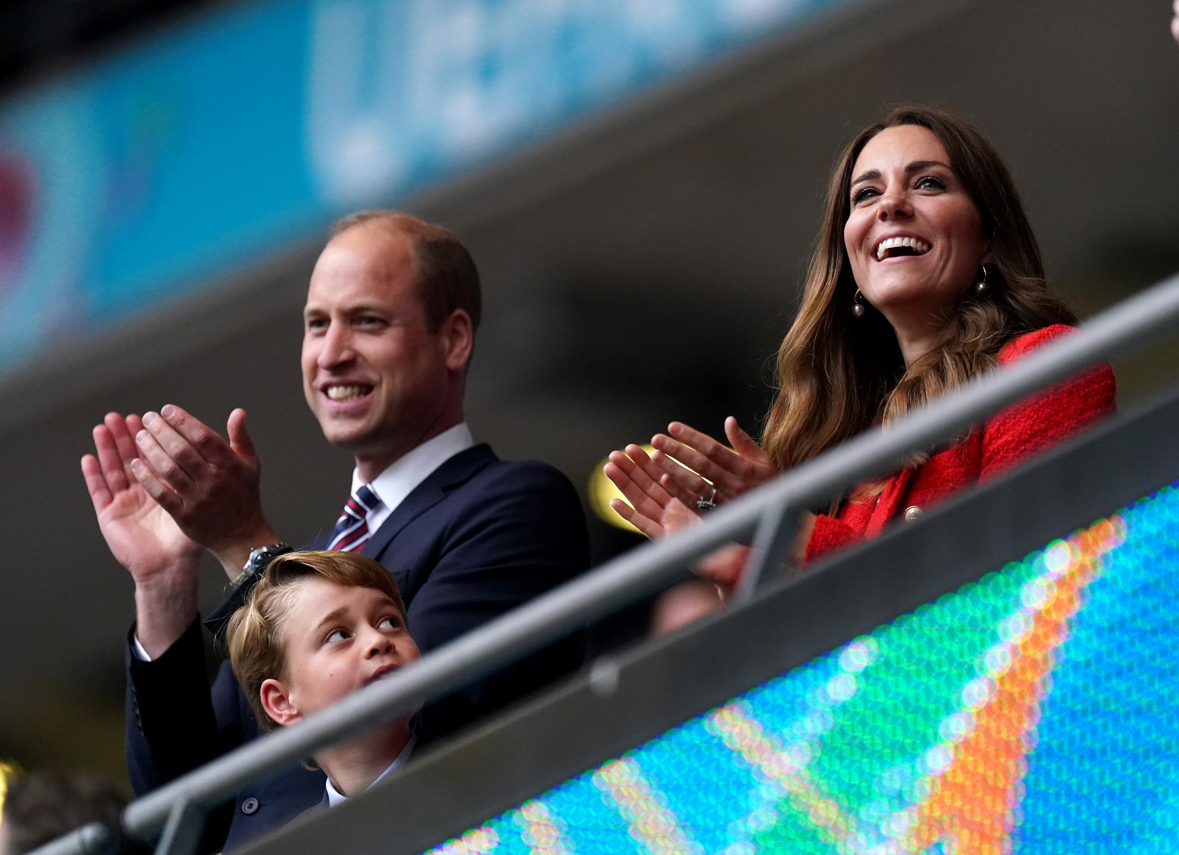 'British' royals have only attended England football matches for two decades - The National