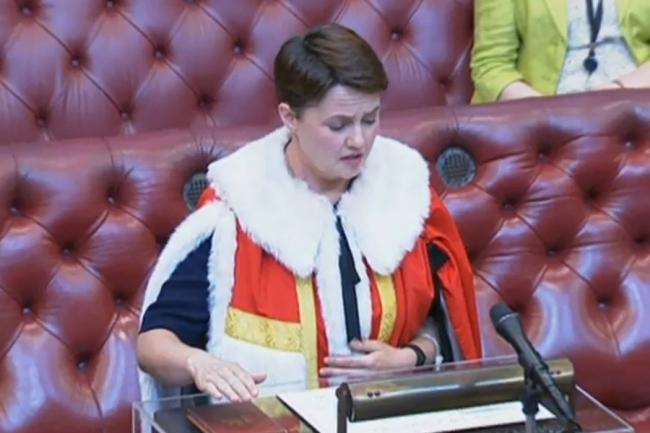 Scots react to Baroness Davidson taking her seat in the House of Lords    The National