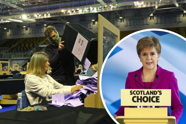 Massive fall in SNP tweets about independence after election