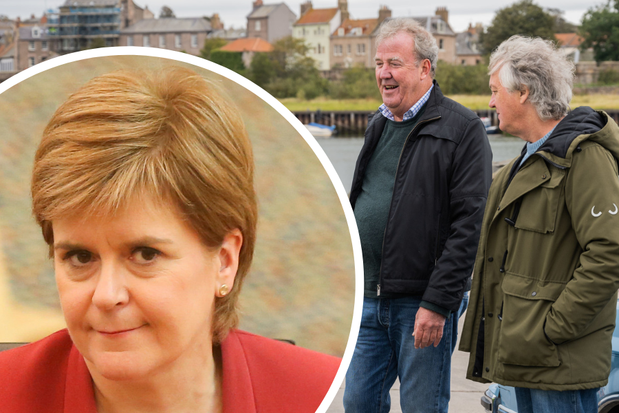 James May has a dig at Nicola Sturgeon over 'bonkers' independence plan