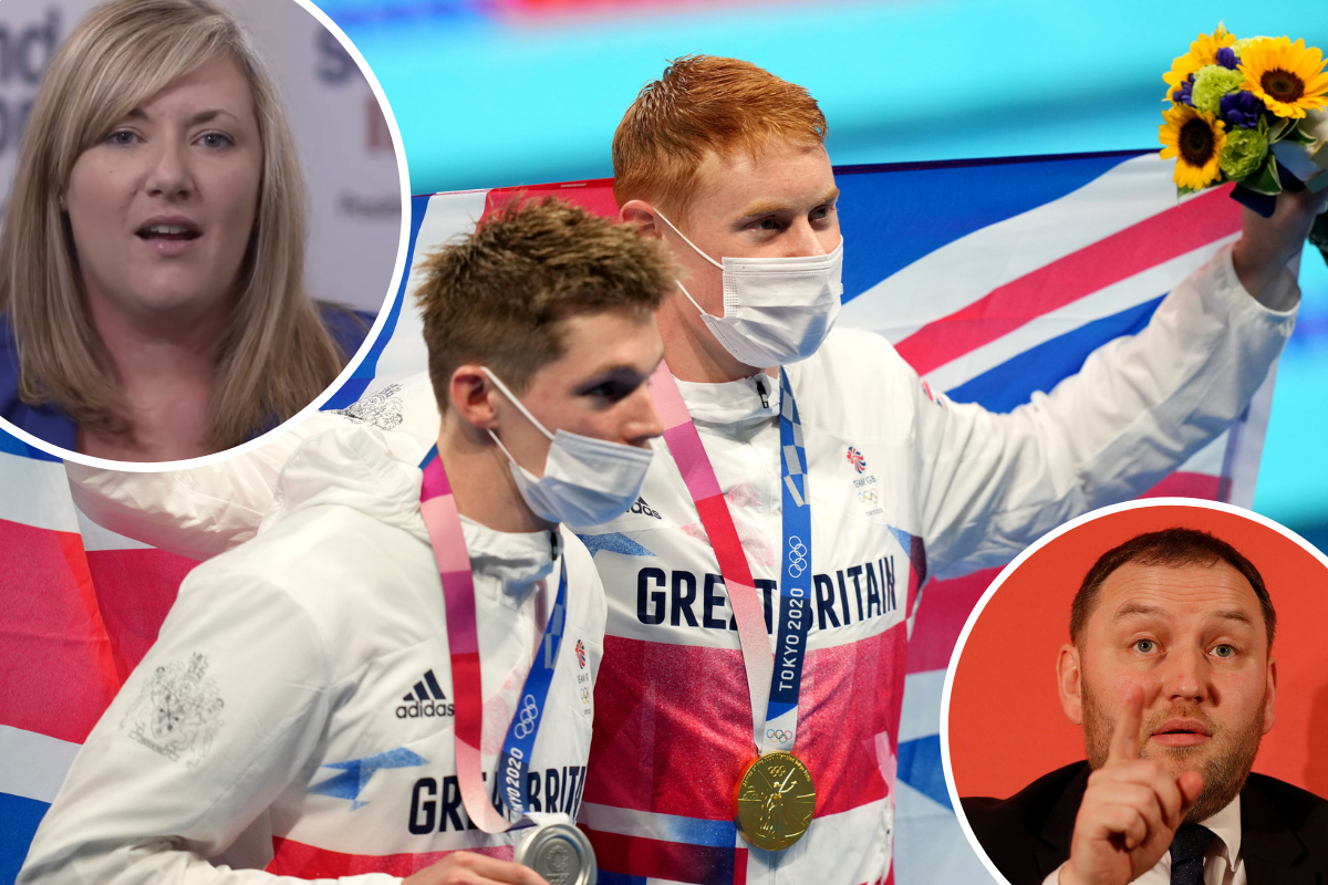 Unionists are VERY annoyed about lack of Team GB support