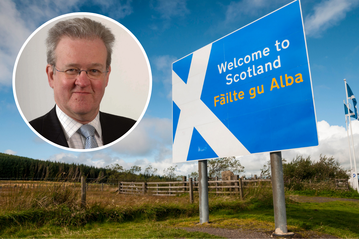SNP unveil bold plan for talks on independent Scotland's border